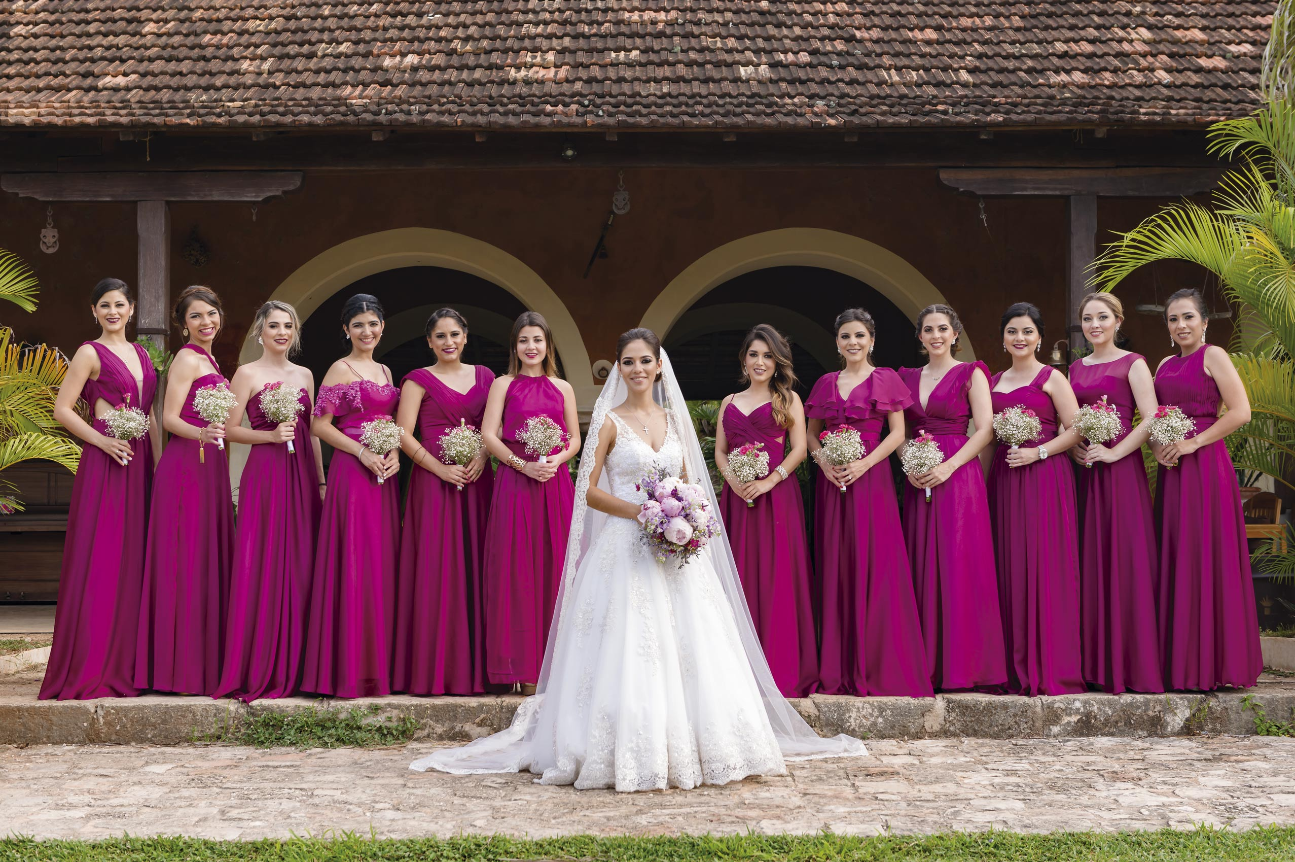 Madrinhas vestidos fuschia | Bridesmaids dresses | Pinterest ...
