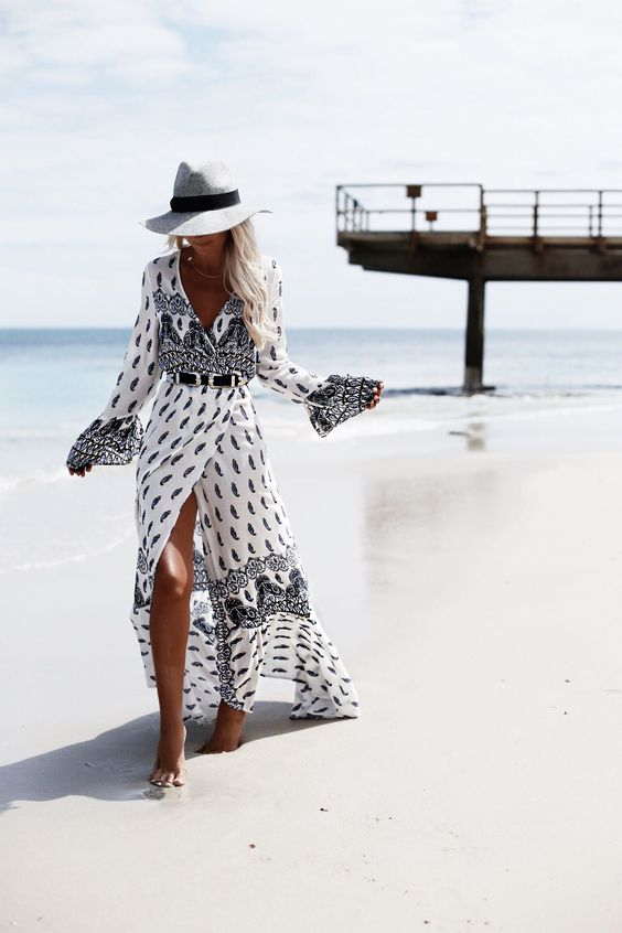 Tipo de vestidos para bodas de día en la playa