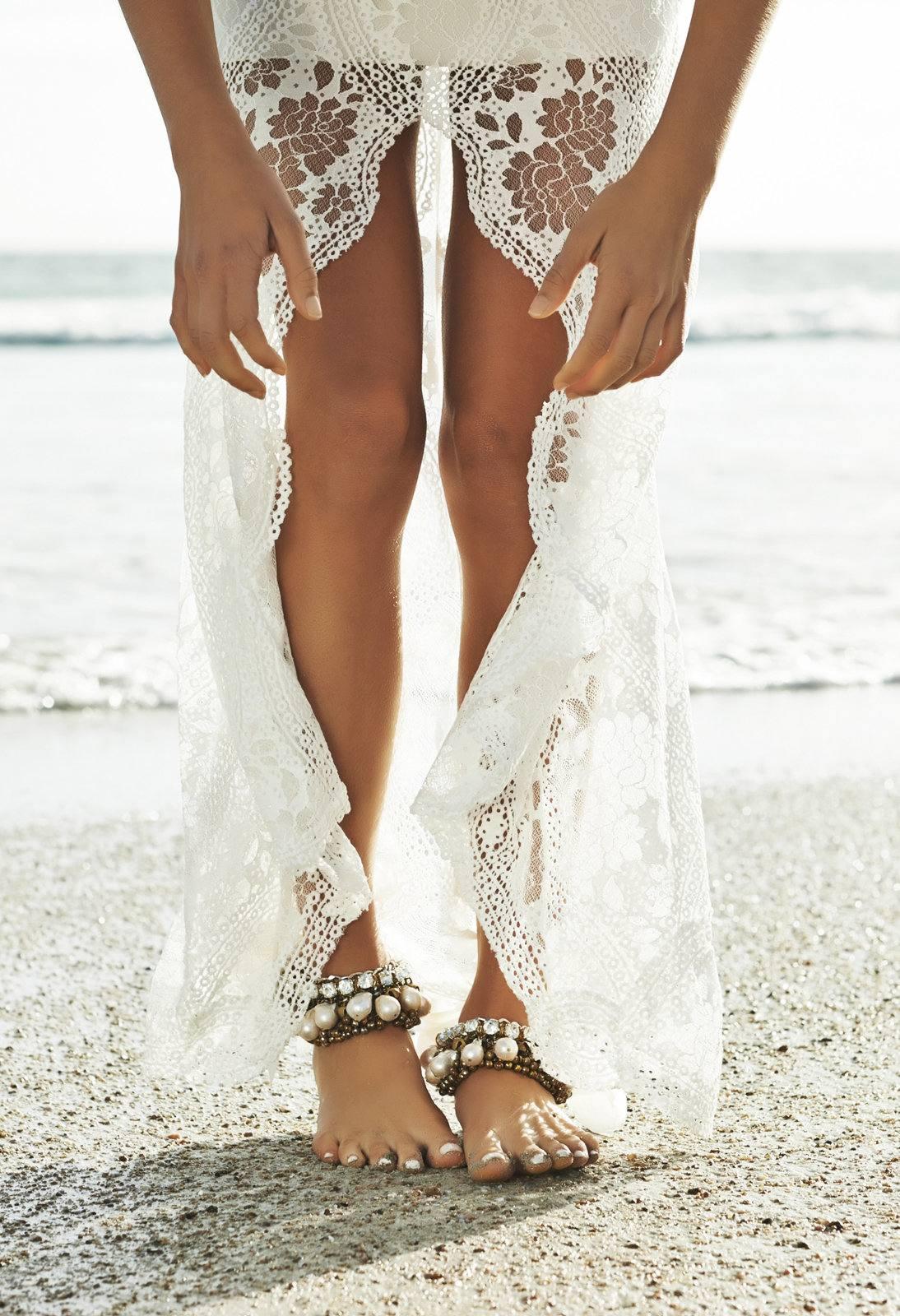 Zapatos ideales para una boda en la playa